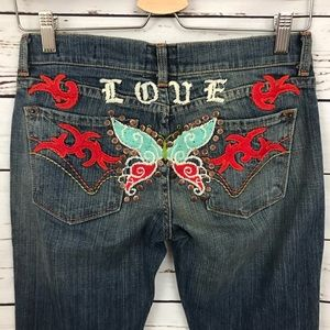 People for Peace Jeans - People for Peace Love Jeans Size 25